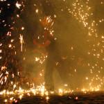 Feuerfinale Feuerkünstler