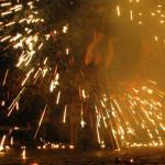 Feuershow Feuerkünstler Unterfranken